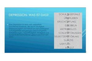 "Theaterprojekt ""Icebreaker- Depression im Jugendalter"""